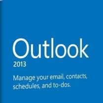 شعار اوت لوك Outlook 2013