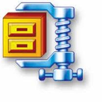 شعار برنامج فك ضغط الملفات